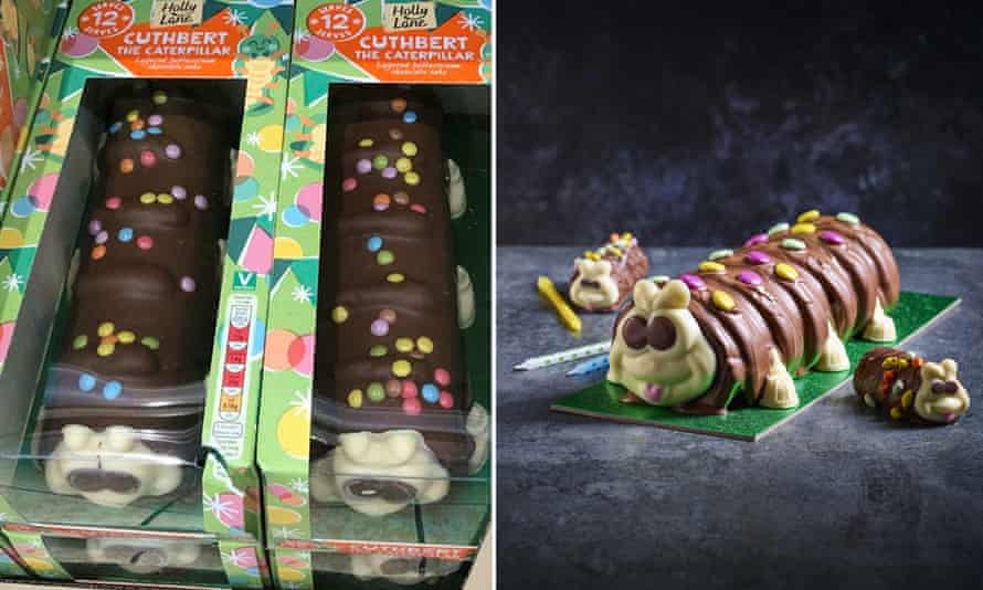 Caterpillars in court as M&S sues Aldi over Colin cake 'lookalike'