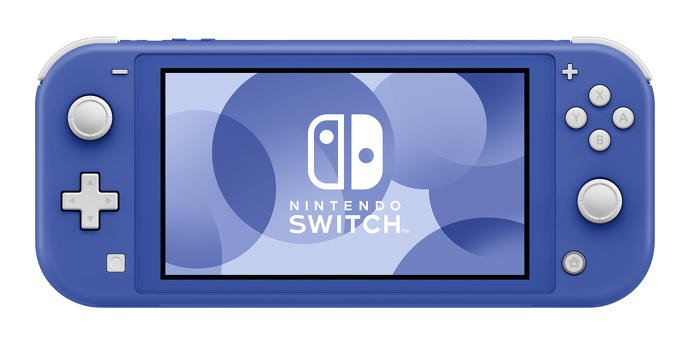 There's a new Nintendo Switch Lite, coloured blue